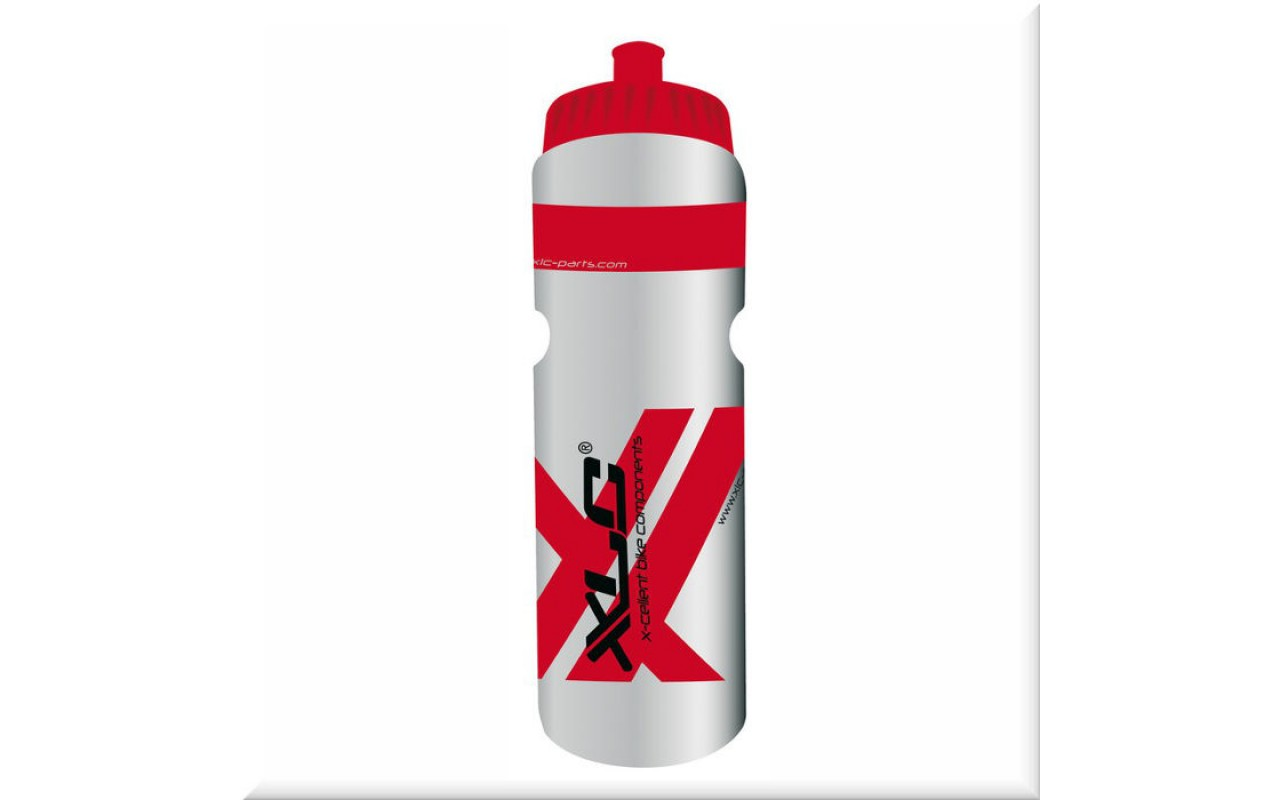 Фляга XLC Water bottle 750ml, transparent red WB-K03