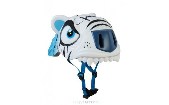 Шлем White Tiger 2017 New (белый тигр) Crazy Safety