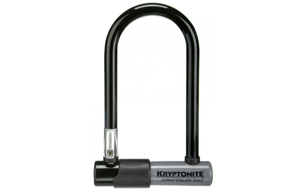 Замок на ключе для велосипеда Kryptonite U-locks KryptoLok Series 2 Mini-7 w/ FlexFrame bracket