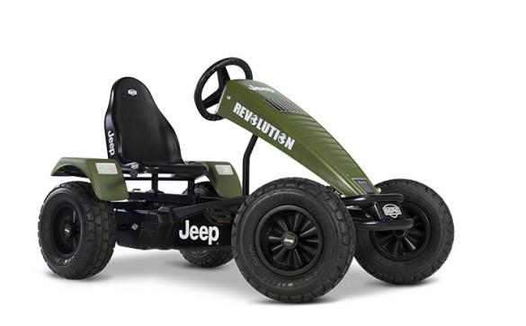 Веломобиль Berg Jeep Revolution pedal go-kart E-BFR