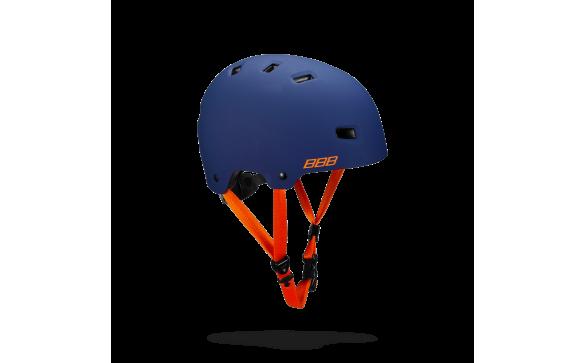 Велошлем BBB 2018 Billy синий матовый/оранжевый