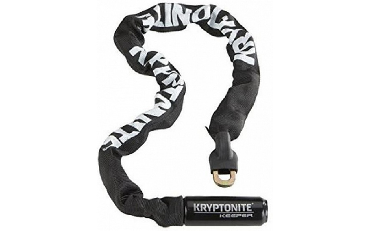 "Замок велосипедный Kryptonite Chains Keeper 712 Integrated Chain - 4' (7mm x 120cm) <i class=""icon product-card_star-mask""></i>"