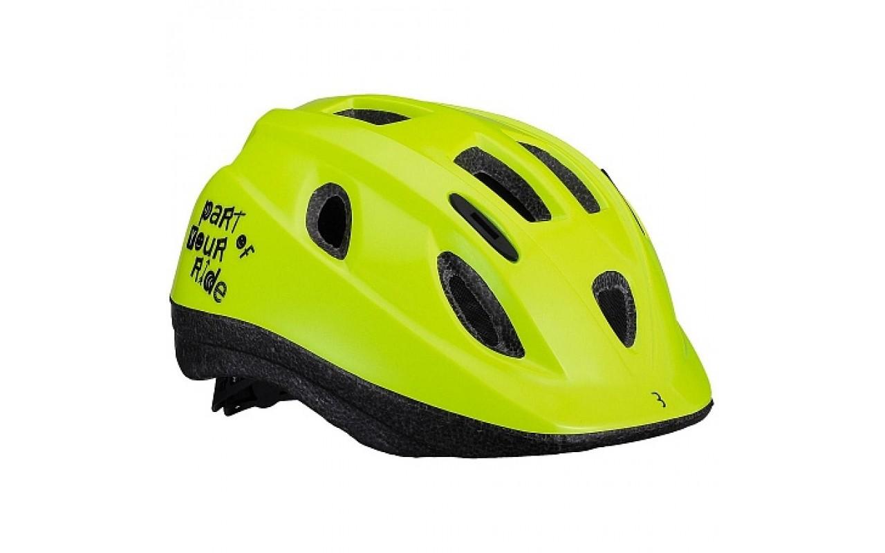 "Велошлем BBB 2019 helmet Boogy glossy neon yellow <i class=""icon product-card_star-mask""></i>"