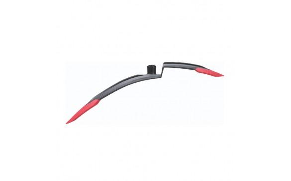 Крыло переднее BBB GrandProtect MTB red красный