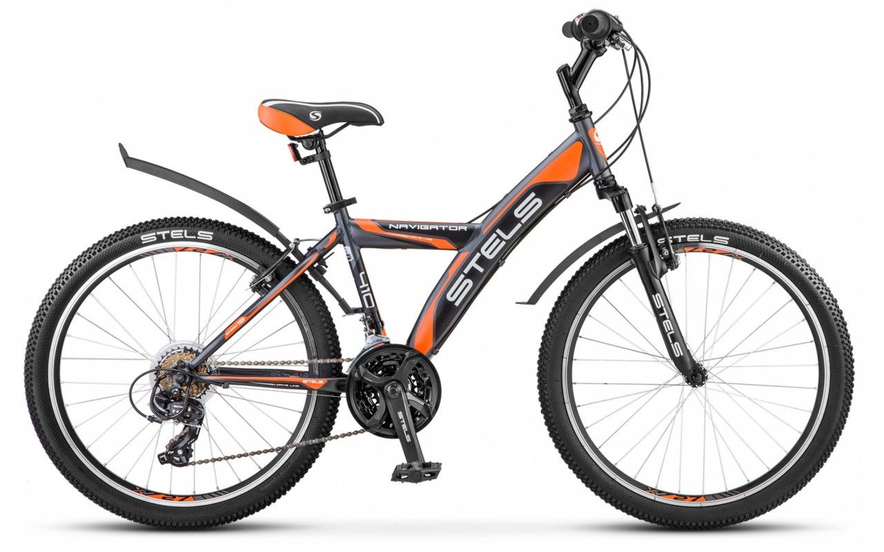 Подростковый велосипед Stels Navigator 410 V 18-sp V030 (2017)