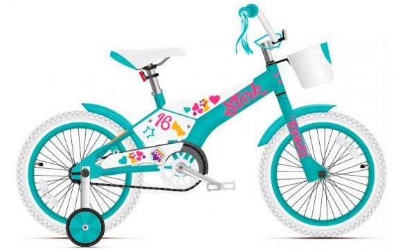 Детский велосипед Stark Tanuki 16 Girl (2018)