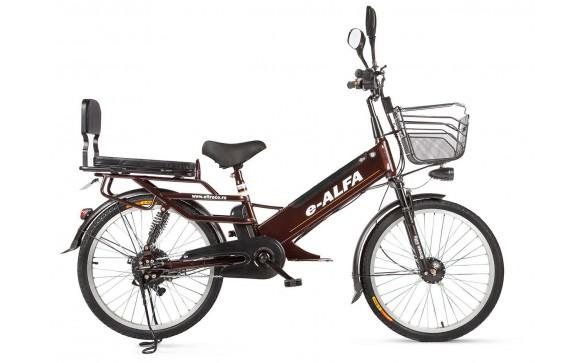 Электровелосипед Eltreco e-Alfa GL (2018)