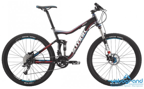 Велосипед двухподвес Stark Teaser XC 650B (2015)