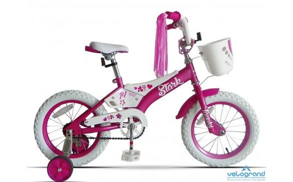 Детский велосипед Stark Tanuki 14 girl (2016)