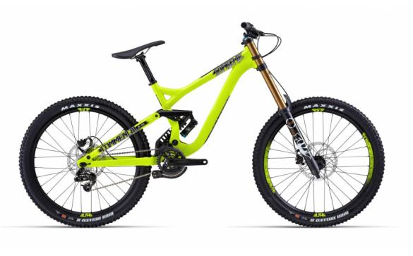 Велосипед двухподвес Commencal Supreme DH WC (2014)