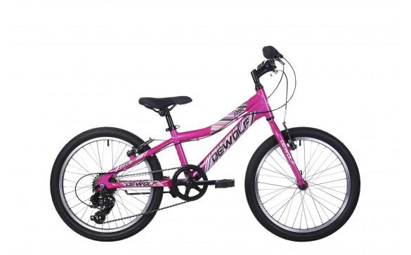 Детский велосипед Dewolf J200 GIRL (2018)