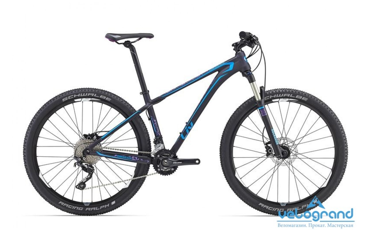 Женский велосипед Giant Obsess SLR (2016)