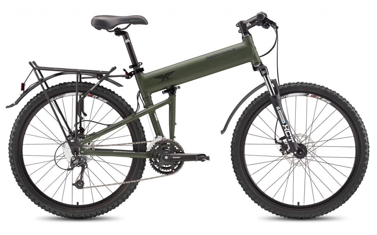 Складной велосипед Montague Paratrooper (2017)