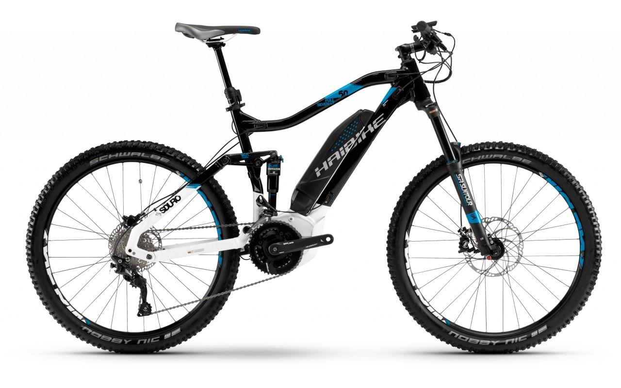 Горный велосипед Haibike Sduro FullSeven LT 5.0 500Wh 20s Deore (2018)