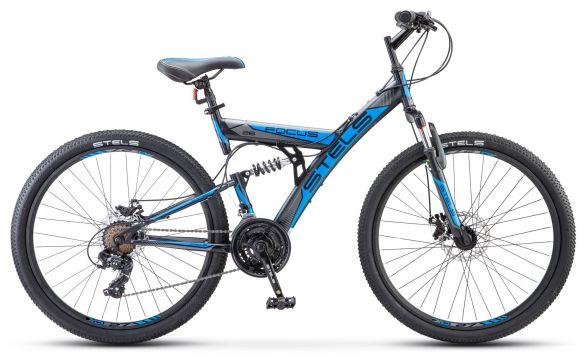 Двухподвесный велосипед Stels Focus MD 26 21-sp V010 (2017)