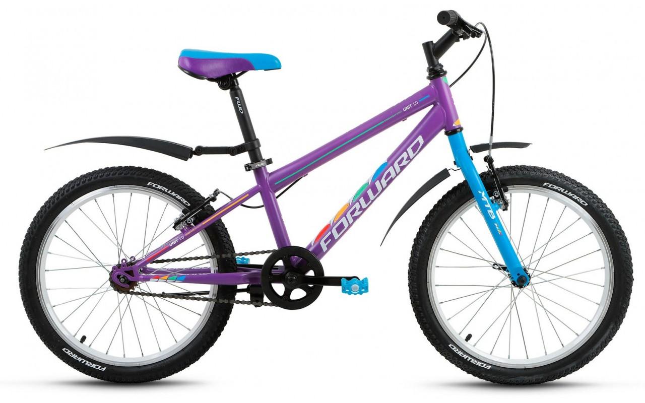 Подростковый велосипед Forward Unit 1.0 (2018)
