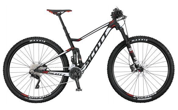 Двухподвесный велосипед Scott Spark 750 (2017)