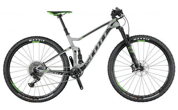 Двухподвесный велосипед Scott Spark 900 (2017)