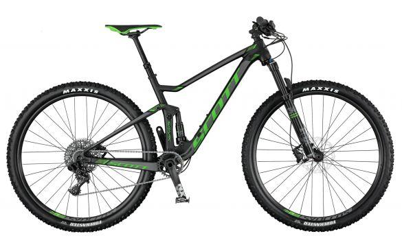 Двухподвесный велосипед Scott Spark 745 (2017)