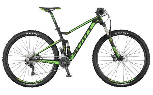 Двухподвесный велосипед Scott Spark 760 (2017)