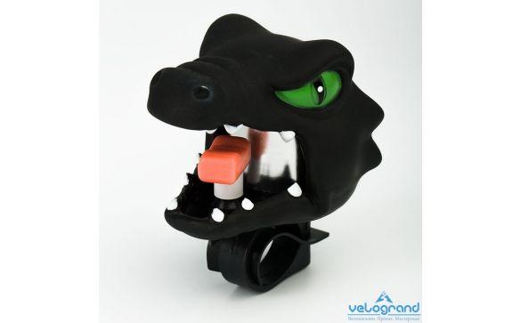 Звонок велосипедный Черный дракон