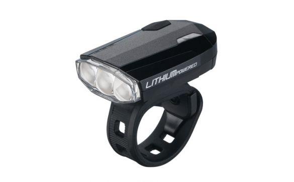 Фонарь передний BLS-46 minilight front Spark black rechargeable Iithium bat
