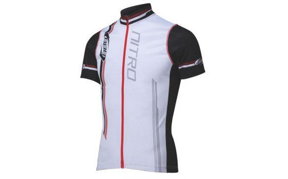 BBW-116 Nitro jersey s.s. white red