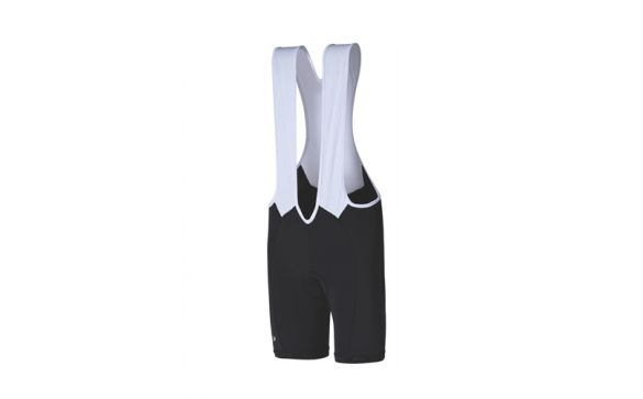 BBW-211 bib-short Squadra black with white upper