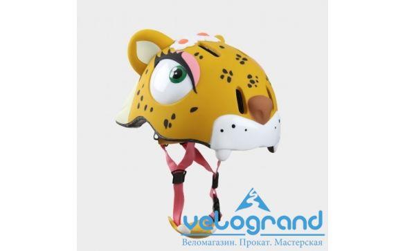 Защитный шлем леопард