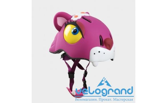Защитный шлем чеширский кот