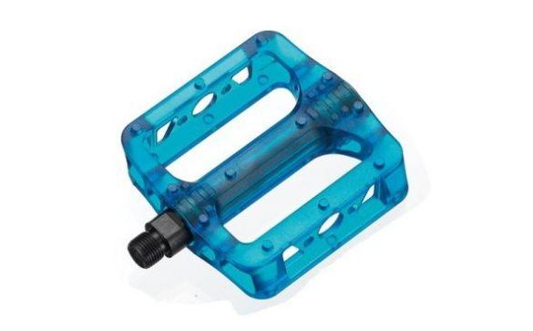 Педали MTB/BMX Blue пластиковые GM-02