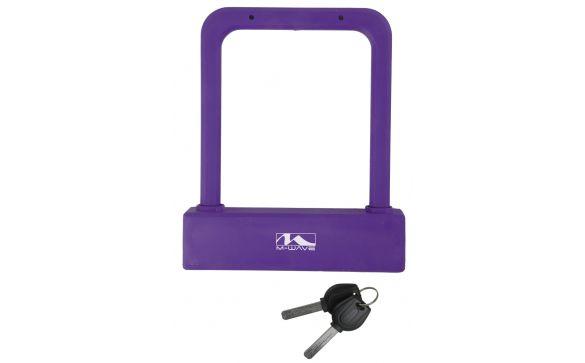Замок-скоба вело/универсальный 205 фиолетовый M-WAVE