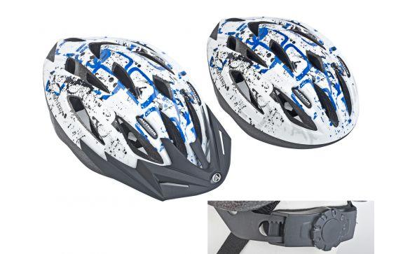 Шлем спортивный VENTO 125 BLU р-р 54-58см AUTHOR