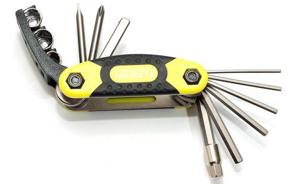 Ключ складной (набор) с головками TOOLBOX 12 AUTHOR