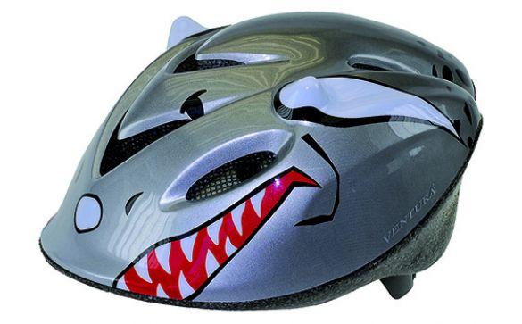 Шлем детский р-р 52-57см серый SHARK Ventura