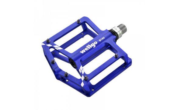 Педали BMX/Downhill алюминиевые B185 Blue WELLGO