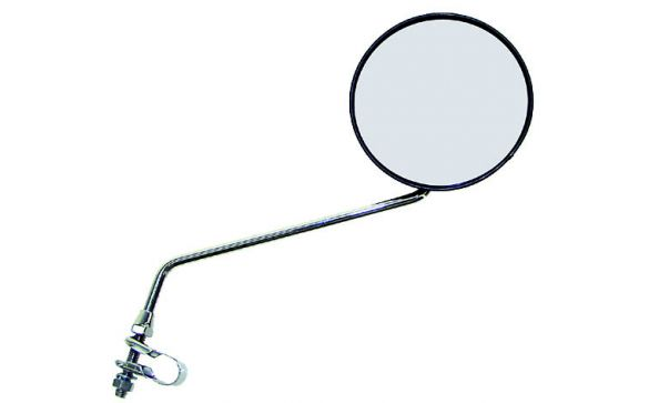 Зеркало плоское круглое  , ø105мм,