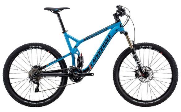 Велосипед двухподвес Cannondale Trigger 27.5 4 (2015)