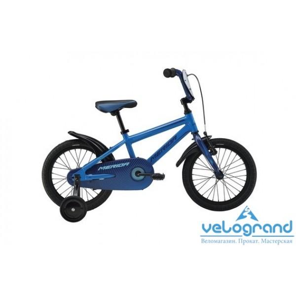 Детский велосипед Merida FOX J16 (2016), Цвет Синий