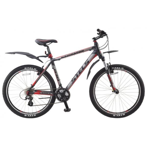Горный велосипед Stels Navigator 830 (2014), Цвет Бело-Красный, Размер 19,3