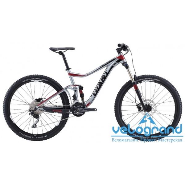 Велосипед двухподвес Giant Trance 27.5 3 (2015), Цвет Серый, Размер 20