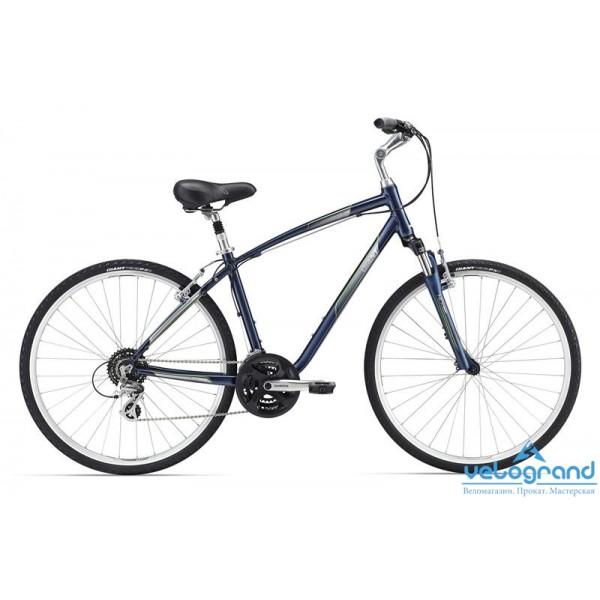 """Комфортный велосипед Giant Cypress DX (2016), Цвет Голубой"""", Размер 20"""