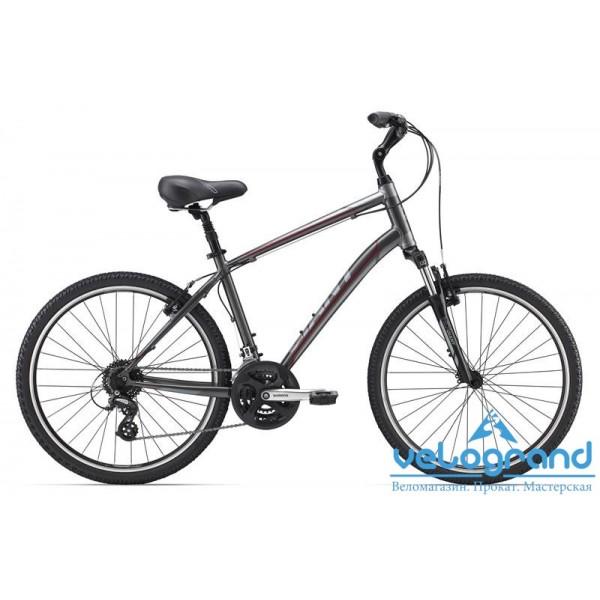 Комфортный велосипед Giant Sedona DX (2015), Цвет Серый, Размер 20