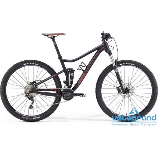 Велосипед двухподвес Merida ONE-TWENTY 600 (2016), Цвет Синий, Размер 18