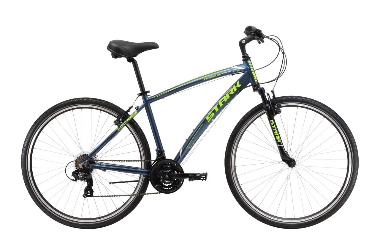 Комфортный велосипед Stark Terros 28.2 V (2017)
