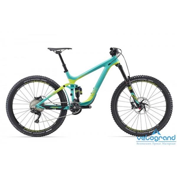 Велосипед двухподвес Giant Reign Advanced 27.5 1 (2016), Цвет Зеленый, Размер 20