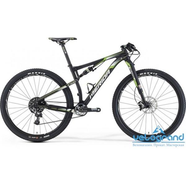 Велосипед двухподвес Merida NINETY-SIX TEAM (2016), Цвет Карбон, Размер 18