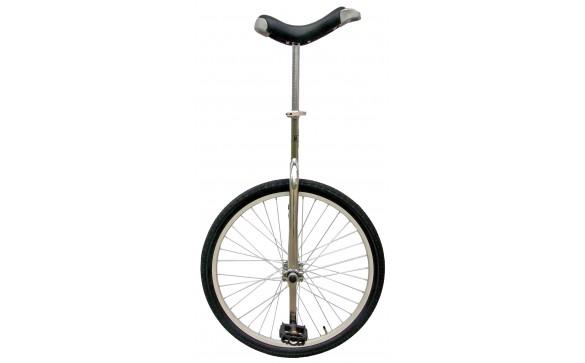 Уницикл 24 одноколесный велосипед серебристый FUN