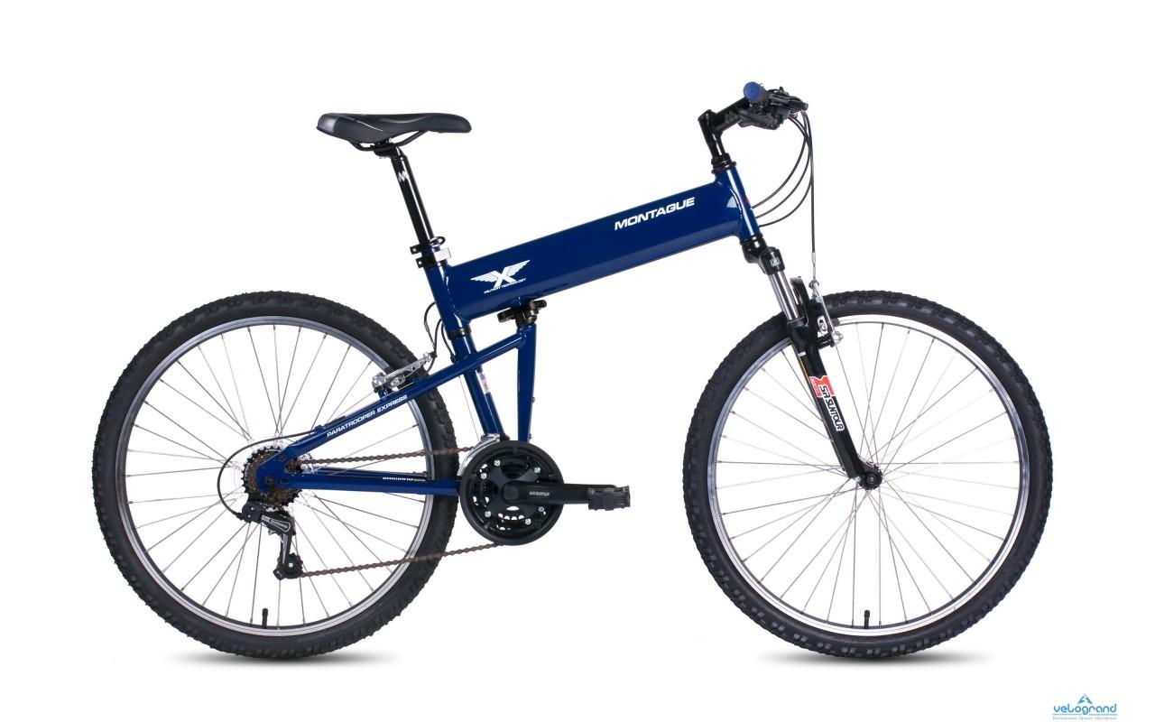 Складной велосипед Montague Paratrooper Express (2016)