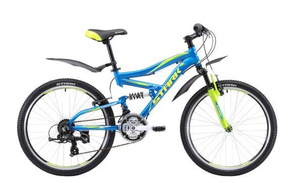 Подростковый велосипед Stark Rocket 24.2 FS V (2017)